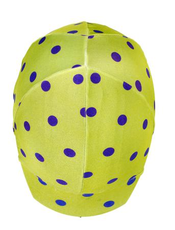467622-1037 Lime with Purple Dots