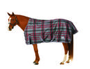 Clay/Sangria Plaid horse