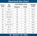 Moorland Size Chart